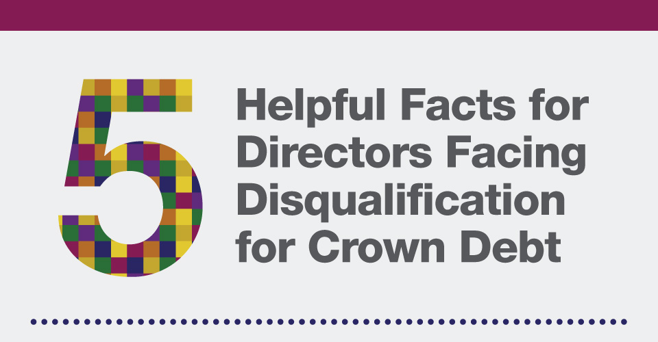5 helpful facts if you are facing director disqualification