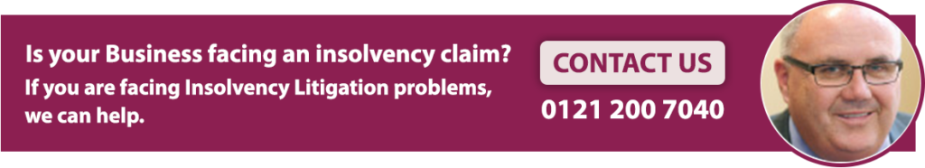 Insolvency Litigation Solicitors