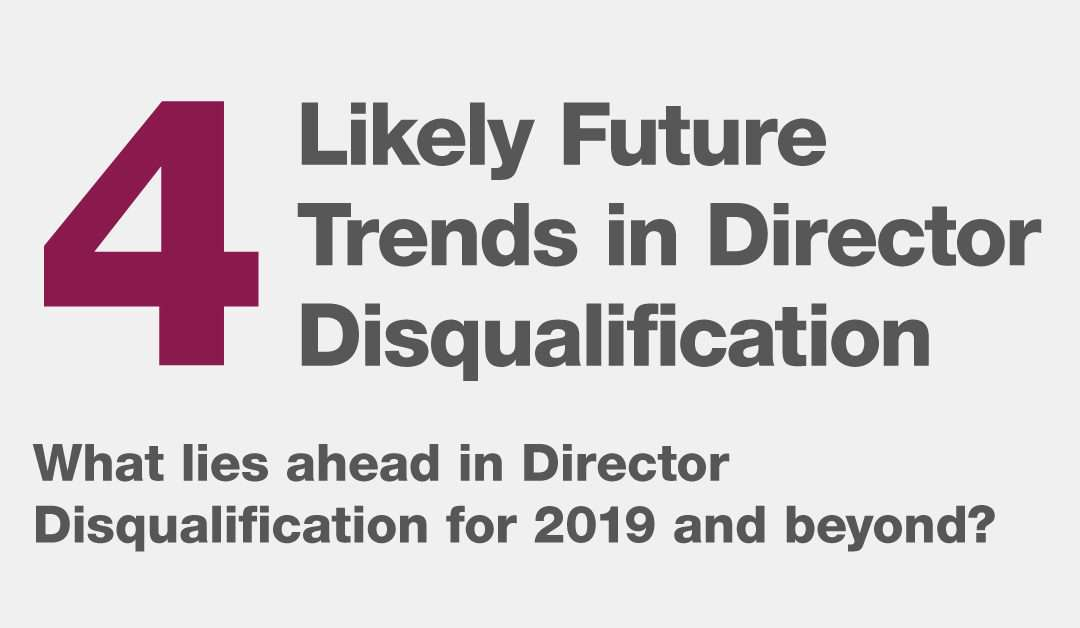 Director Disqualification Predictions